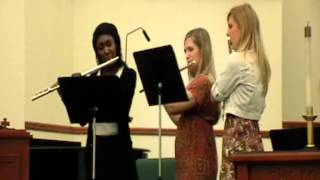 Pace Tri-M Induction Ceremony: Courtney Woolfolk, Lauren Yonker, and Kaila DeHaan Thumbnail