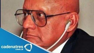 Muere el general Jesús Gutiérrez Rebollo / Fallece el general Jesús Gutiérrez Rebollo