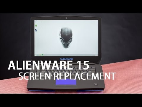 How To Replace Laptop Screen Alienware R2 15