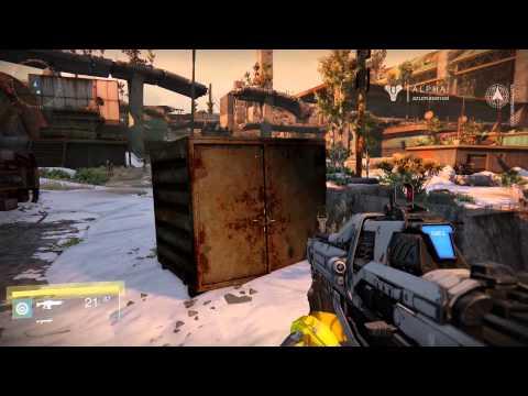 Destiny ALPHA: Warlock Gameplay 2 - Open World and Tower HUB