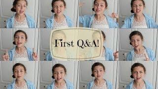 First Q&A! ♡ Thumbnail