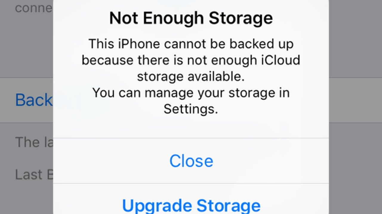 How to delete apple icloud storage