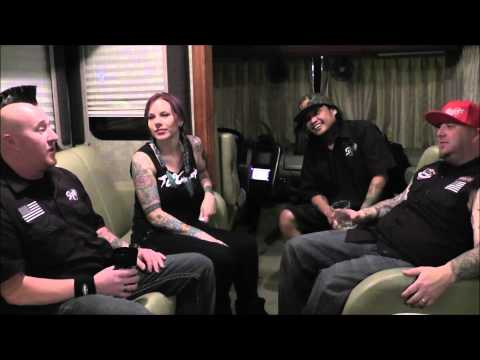 Moonshine Bandits 2014 Interview with Ms. Angi from Tat2 Magazine tattoo