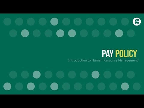 Pay Policy