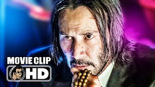 "JOHN WICK 3 ""Director"" Movie Clip (2019) Keanu Reeves, Anjelica Huston Movie"