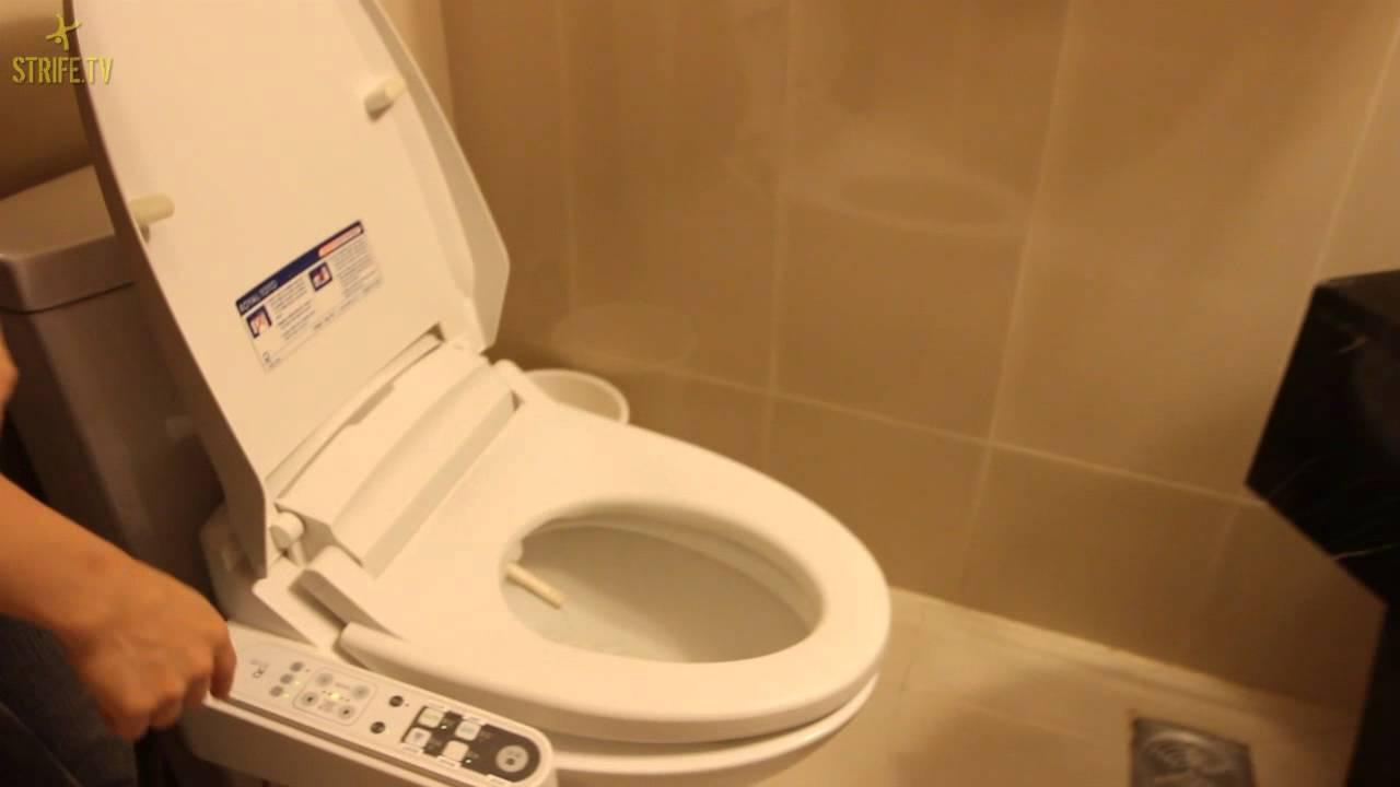 R16 Korea Hotel Toilet Youtube