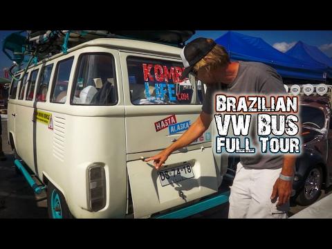 Brazilian VW Bus - 1992 Bay / Split Hybrid (Full Tour)