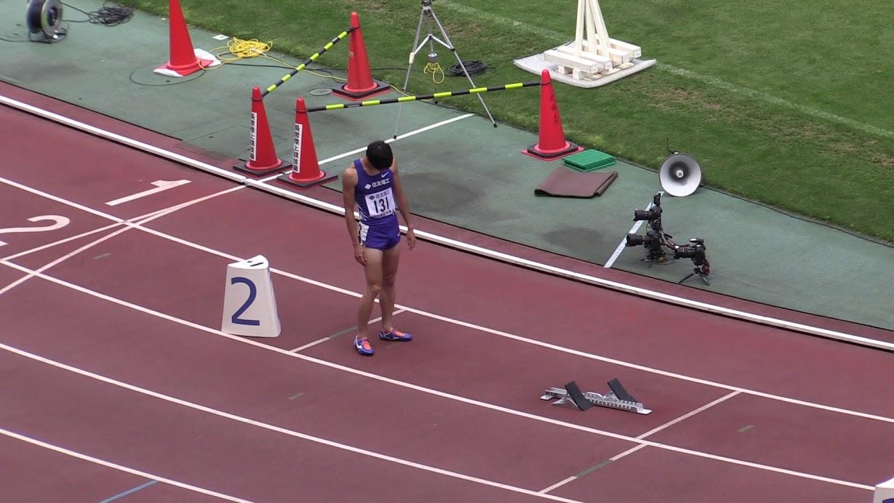 木南記念陸上  男子 GP400mタイム決勝 1組~3組 2019.5.6  Alexander BECK、河内光起