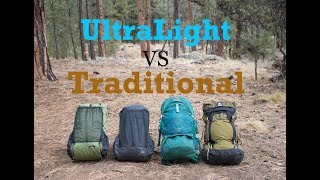 Ultralight Vs Traditional Packs - What's the Best for you?