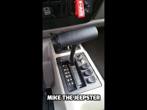 Jeep Wrangler Shifter Plate Switch Mod