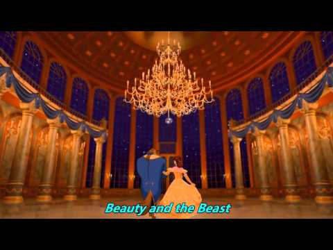 Beauty and the Beast - Tale as old as time with lyrics HD