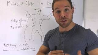 Muskelaufbau im Kaloriendefizit #2