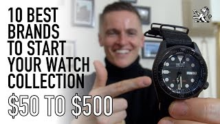 10 Best Watch Brands For A Student Or Teenager On A Limited Budget - Under $500 - #GIAJ5