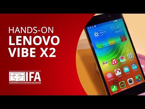 Vibe X2: o smartphone com design interessante da Lenovo [Hands-on | IFA 2014]