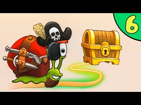 Несносный УЛИТКА БОБ 3. Серия 6. Игра Snail Bob 3 на канале Игрули TV