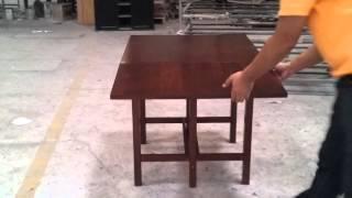 Pks New Drop Leaf Table.vid01