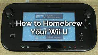 How to Homebrew a Wii U 2017