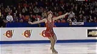 Слуцкая. Чемпионат Европы 2003. Slutskaya. European championship 2003