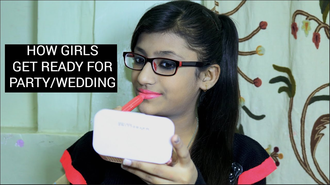 How S Get Ready For Wedding Party