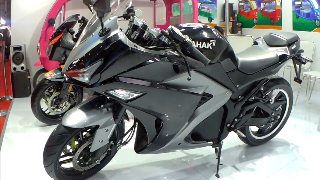 Download India's First High Performance Electric Sportsbike Nahak Motors RP14 |Auto Expo 2020