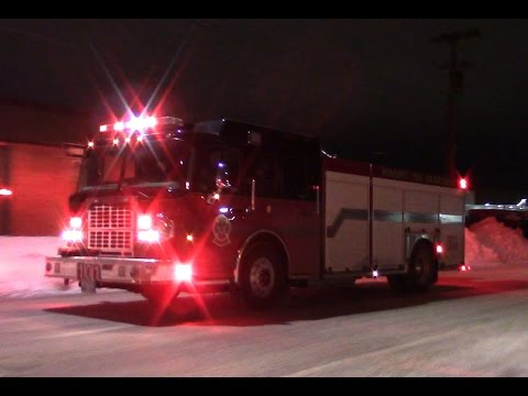 acdf266f1f Winnipeg Fire Engine 101 Responding - YouTube