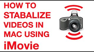 How to stabilize shaky videos using iMovie on Mac