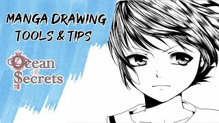 How I draw Manga (Tools and tips)
