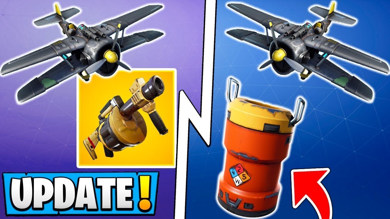 *ALL* Fortnite 8.40 Changes!   Planes Return, New Items, Grenade Launcher Update!