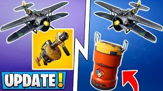 *ALL* Fortnite 8.40 Changes! | Planes Return, New Items, Grenade Launcher Update!