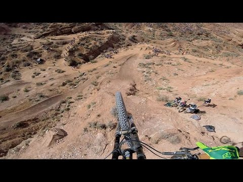 Kurt Sorge Stomps Cork Flip at Rampage GoPro Bike Video