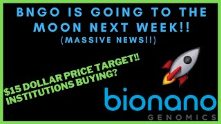 BNGO IS GOING TΟ GO CRAZY NEXT WEEK! - $15 Price Target! - (BNGO Stock Analysis)