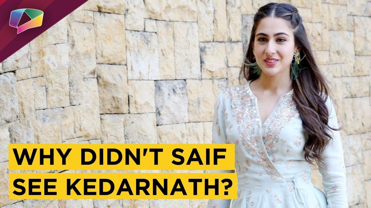 Sara Ali Khan Reveals Mom Amrita Singh's Reaction On Watching Kedarnath | Exclusive