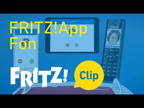 FRITZ! Clip – FRITZ!App Fon: making landline calls with smartphones and tablets