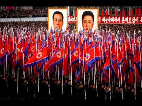North Korean Song: We will forever go along the road of loyalty! - Enlgish