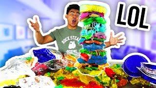DIY TALLEST GUMMY SANDWICH! thumbnail