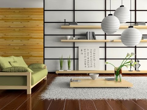 int rieur d coration zen japonaise youtube. Black Bedroom Furniture Sets. Home Design Ideas
