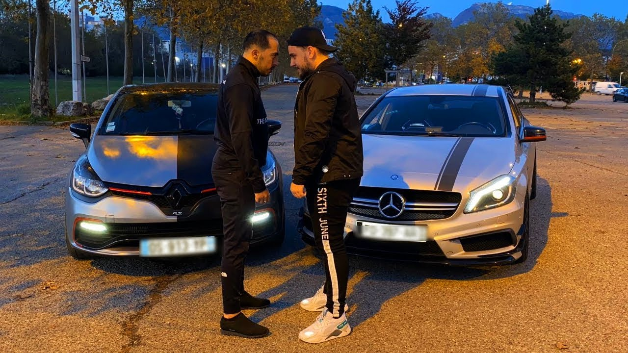 Download COURSE CLIO 4 RS VS A45 AMG