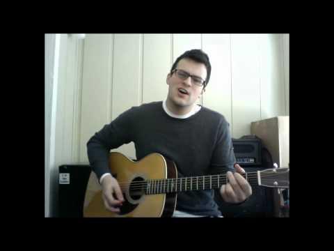 Tyler Herrin - Red Light (David Nail cover - Kickstarter backer request video)