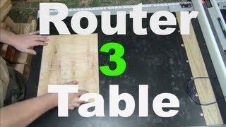 Router Table Tablesaw Extension - Diy Router Table Pt 3
