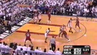Jason Williams Hits 10 Consecutive Shots, Leads Heat To Finals