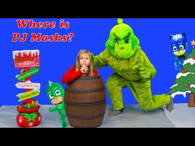 Assistant must Stop the Grinch and find PJ Masks and Paw Patrol and Vampirina