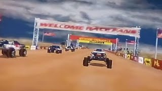 Off road challenge intro glitch. (Kind of...)