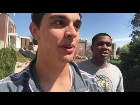 Adrian College Vlog #1!!!!!