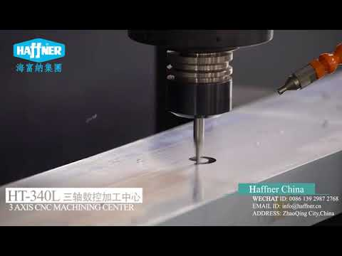 Haffner China HT 340L 3 axis machine center with longer body design