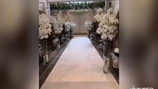 #wedding #decoration #flower #howto Wedding Decoration Before meets After  Wedding Ceremony