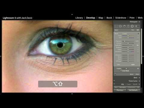 Changing Eye Color With Adobe Lightroom 5