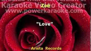 Love Zoe karaoke