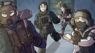 UNEXPECTED Moments in Rainbow Six Siege!!