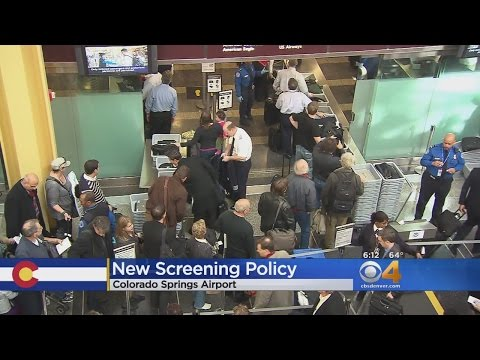 New Screening Policy For Colorado Springs Airport