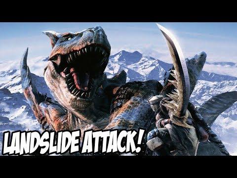 This Monster is TOO FAST! LANDSLIDE EPICNESS! - Monster Hunter World | Let's Play Episode #7 thumbnail